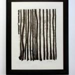 Papierkontrast 2012, geschöpftes Papier , 50 x 60 cm