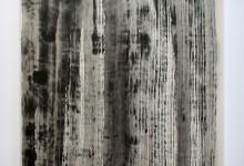 o. T. 2012, Tusche auf Chinapapier, 50 x 50 cm