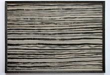 Horizontale 21012, Mischtechnik, 70 x 50 cm