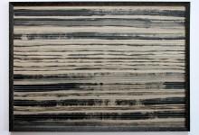 Horizontale 2 2012, Mischtechnik, 70 x 50 cm