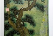 Kiefer 2010, Tusche auf Chinapapier, 50 x 50 cm