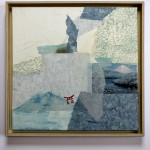 Fuji 2009, Collage, 50 x 50 cm
