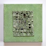 Durchblick 2014, Papierarbeit, 15 x 15 cm