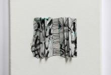 o. T. 2014, Papierarbeit, 15 x 15 cm