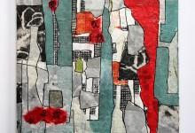 o. T. 2014, Collage, 30 x 30 cm