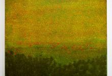 Blumenwiese 2013, Acryl, 60 x 50 cm