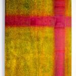 Magenta Kreuzung 2013, Acryl, 50 x 70 cm