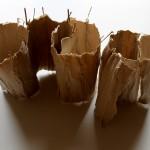 o.T. 2014, Flachs und Bambus