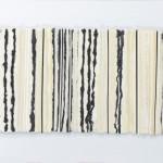 Vertikalen, 2014, Collage aus geschöpften Papieren