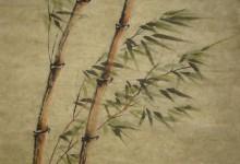 Herbst 2004, Tusche, 60 x 80 cm, gerahmt
