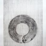 Zenkreis 2011, Radierung, 50 x 60 cm, gerahmt