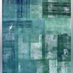 o. T. 2010, Monotypie, 70 x 100 cm