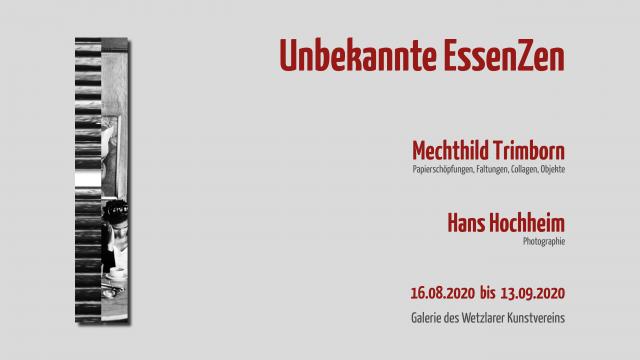 Ausstellung Wetzlarer Kunstverein • 16.08.2020 bis 13.09.2020